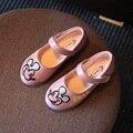 Niños Zapatos de la Princesa de Dibujos Animados Zapatos de Las Muchachas del Color del caramelo Muchachas de La Manera Sandalias de Las Muchachas Sandalias el Nuevo Diseñador de Zapatos de Un Solo Verano EU21-30
