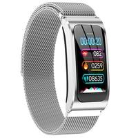 AK12 Smart bracelet Color Screen Waterproof Women's Watch sphygmomanometer menstrual cycle activity monitor Sports Band pk x3 s2