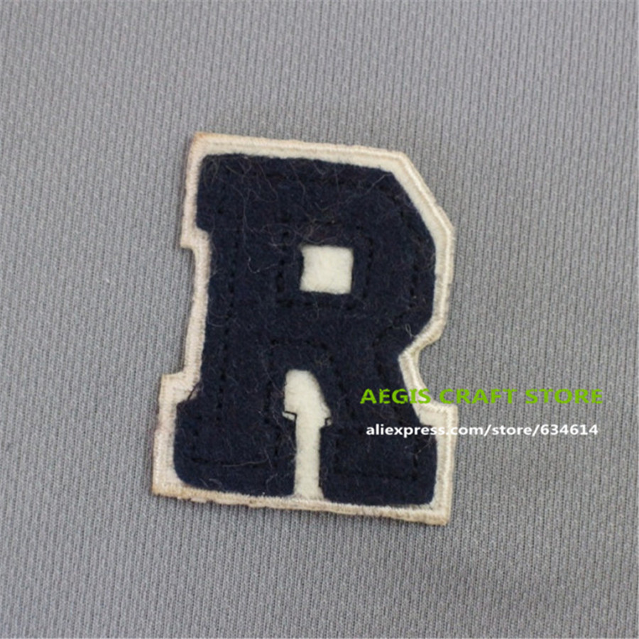 Custom chenille letter patches logo patch for