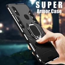 Metal Ring Case For Xiaomi A1 A2 mi 8 SE Phone Full Cover Lite Mix2 Mix2s Soft Silicone Shockproof