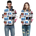 Aorenburg men new fashion 3D Galaxy digital printing funny hoodies mens/women/boys and Harajuku sweatshirts casual Graphics