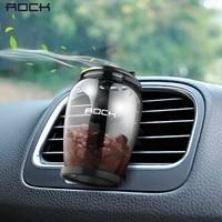 ROCK Aromatherapy Car Holder Universal Aroma Car Air Vent Air Freshener Car Holder Luxury Natural Zeolite