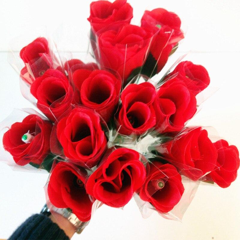 Valentine's Day Present Torches Change Roses Magic Tricks