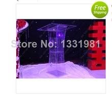 Speech table transparent acrylic lectern dj-111 dairymen