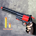 Classic Toys pistol Children's toy guns Soft Bullet Gun plastic Revolver Kids Fun Outdoor game shooter safety