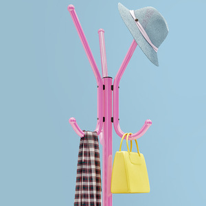 Image 5 - Entryway cabides cabides cabide cabide ganchos móveis rack de secagem rack de pé chapéu prateleiras de armazenamento móveis para casa
