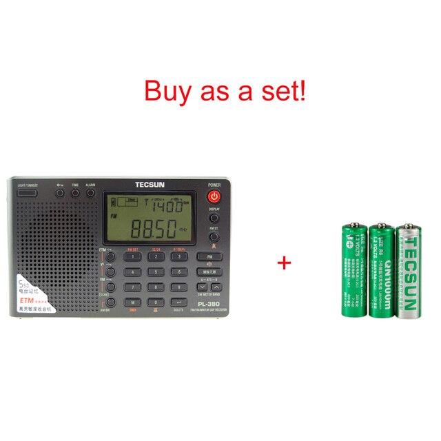 Радиоприемник TECSUN PL-380, PLL, FM/LW/SW/MW, DSP, Интернет-радио