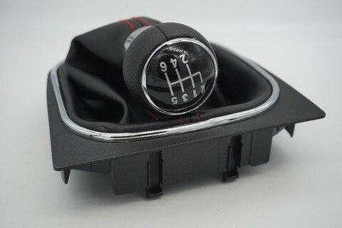 livre de gordura envio gratuito de new 6 engrenagem speed shift knob com bota de