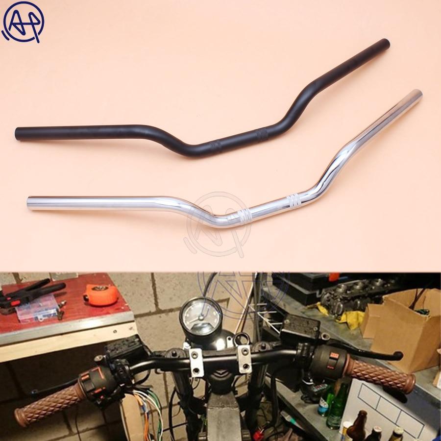 "Universal 7//8/"" 22mm Motorcycle Handlebar Drag Bar Handle Bars 700mm Length"