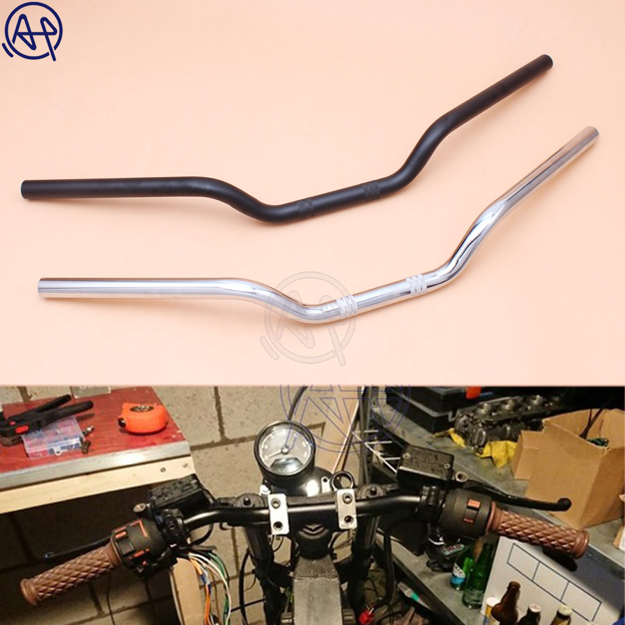 tracker handlebars motorcycle bar drag 22mm honda universal yamaha chrome handlebar custom suzuki bars 1pcs china handle motorcycles harley kawasaki
