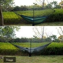 340*140 см Кемпинг Сверхлегкий портативный сетка-гамак палатки Аксессуары Открытый выживания нейлоновые противомоскитные сетки