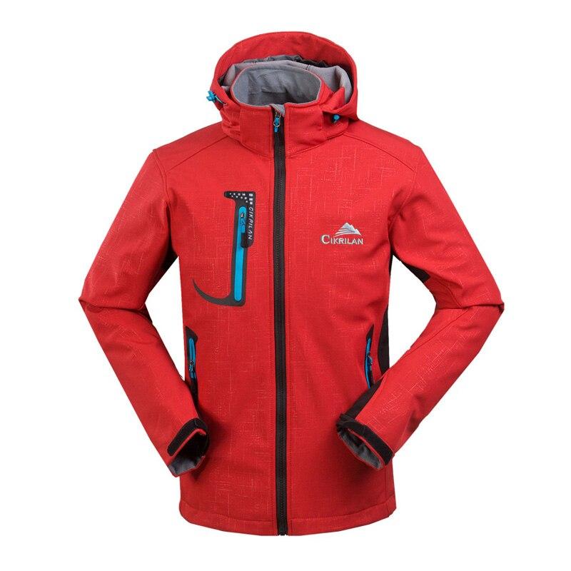 Garantir la veste de randonnée imperméable originale hommes veste d'alpinisme à coque souple coupe-vent Softshell vestes de Camping
