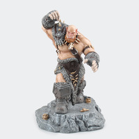 Online Game Wow Ogrim Doomhammer PVC Action Figure 30 CM High Chinese Version Without Original Box