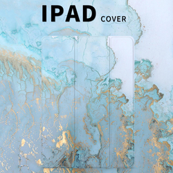 Niebieski marmurowy magnes Smart Flip Cover dla iPad air 10.5 Pro 11 Mini 1 2 3 4 5 2019 Tablet case dla iPad 9.7 2017 2018 soft back