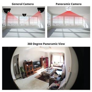 Image 3 - INQMEGA 360 Degree LED Light 960P Wireless Panoramic Home Security Security WiFi CCTV Fisheye Bulb Lamp IP Camera Two Ways Audio