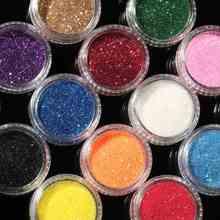 16 Mixed Colors Eye Shadow Makeup Pigment Glitter Powder Mineral Spangle Eyeshadow Makeup Brightens Random Color Maquiagem