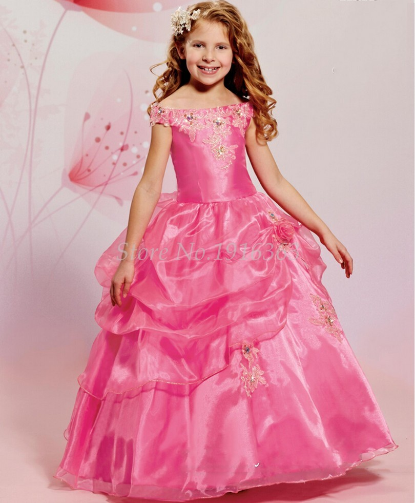 Diamond White Flower Girl Dresses Promotion-Shop for Promotional ...