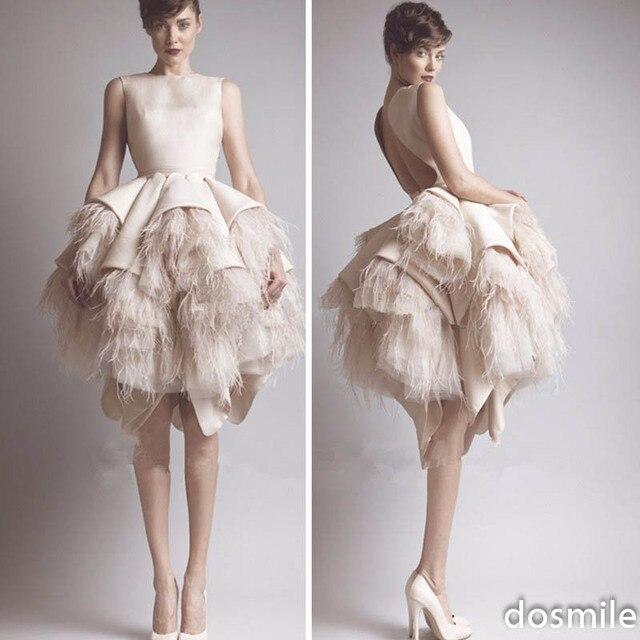 Satin formal short dresses for weddings cocktail dresses