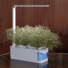 Multifunctional Smart Indoor Herb Gardening Planter Kit Herb Hydroponic Growing System LED Desk Reading Lamp AC100-240V