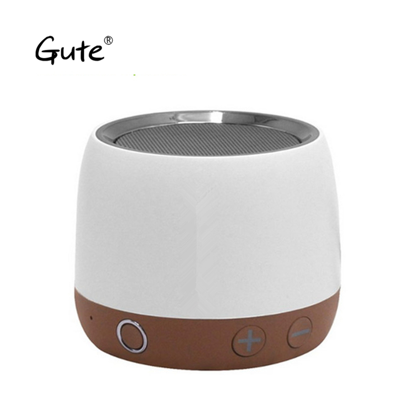 Gute bocina Metal Aço alça de cinto de Rádio boombox Bluetooth Speaker Portátil caixa de som subwoofer ativo carro parlante fre dia