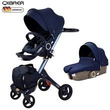 Hot Mom high landscape stroller sit sleeping pneumatic wheel