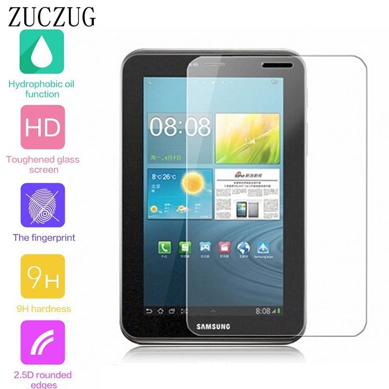Gwydr Tymherus I Samsung Galaxy Tab 2 7 modfedd ar gyfer Samsung Tab 2 P3100 7 Protector Sgrin Gwydr