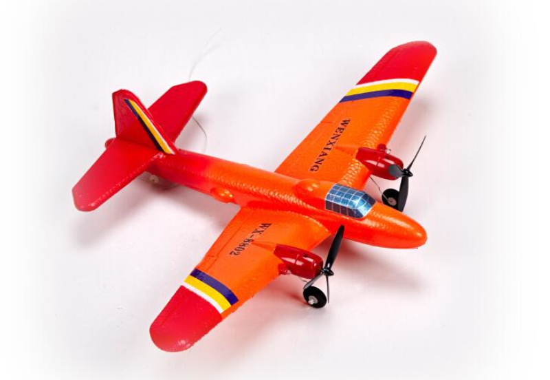 rc airplane WS8802 2CH RC Plane fixed wing  Electric airplane 150m Control rc plane model EPP rc toy model for childe best gift new phoenix 11207 b777 300er pk gii 1 400 skyteam aviation indonesia commercial jetliners plane model hobby