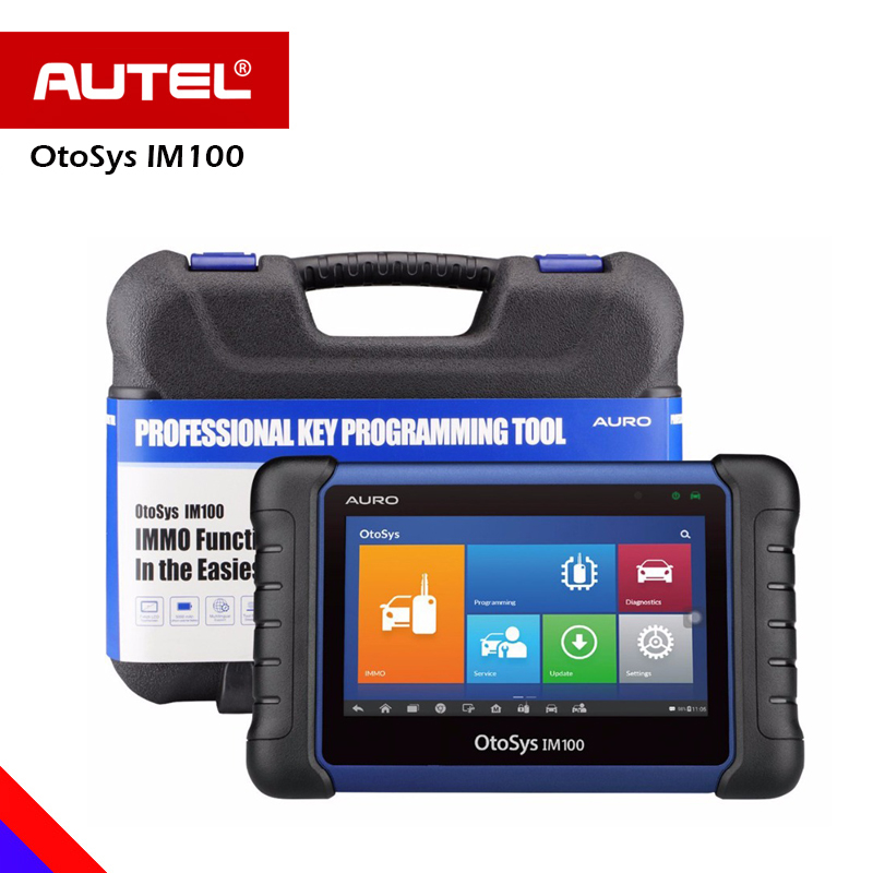 Aurodiag OtoSys IM100 Auto Key Programming Immobilizer Diagnostic Scanner All System Oil Reset EPB/BMS/SAS/DPF/TPMS IM600