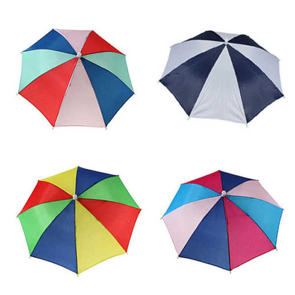 7ceb13848a296 Detail Feedback Questions about Umbrella Hat Multi Color Foldable Outdoors  Headband Cap Sun Golf Fishing Camping on Aliexpress.com