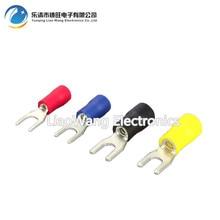 100PCS/LOT SV8-4-5-6-8 Cold pressing end head fork-shaped insulated end head u-shaped end head цена в Москве и Питере