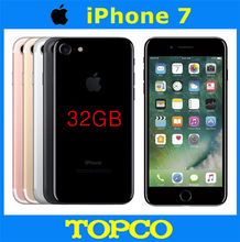 Apple iPhone 7 Factory Unlocked Original Mobile Phone 4G LTE 4.7″ Dual Core A10 12MP RAM 2GB ROM 32GB Cell phone