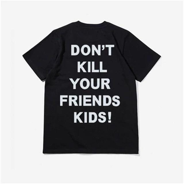 Revenge Limited Tour T Shirt Men Women Hip Hop T-Shirt XXXTENTACION Rapper T-Shirt Revenge Don'T Kill Your Friend Kids Tee Tops