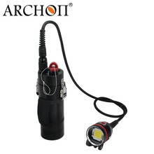 Archon DH102 Canister Diving Video Flashlight Torch 10000 Lumens For Underwater photography archon dg150w wg156w diving flashlight 10000lm rechargeable dive light underwater photography torch with battery pack