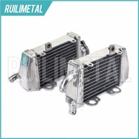 Yüksek Kalite SıCAK Satış Sol Sağ YENI Alüminyum Çekirdekler MX Offroad motokros KTM 65 için soğutma Radyatörleri MX039