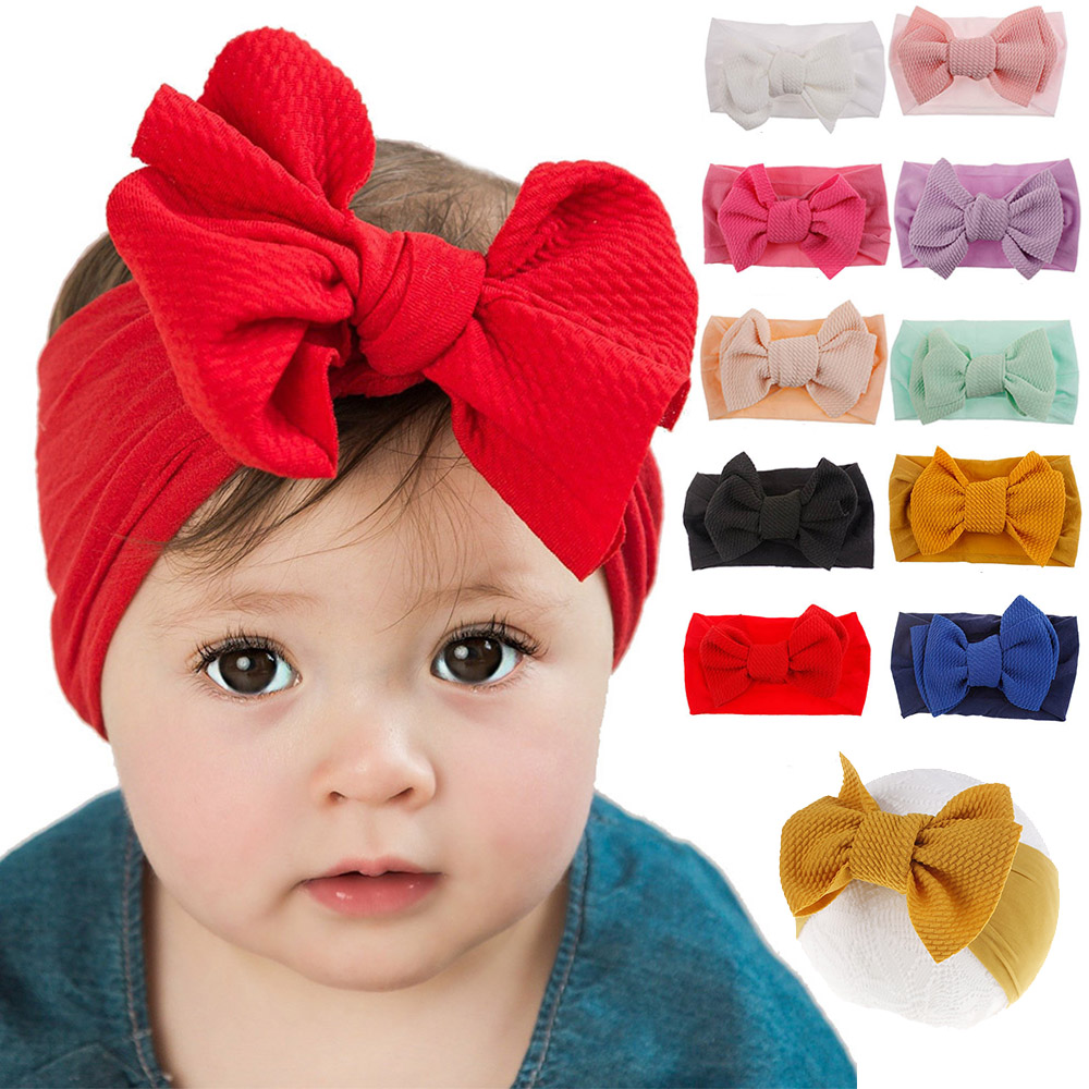 Headband for Baby DIY Hair Accessories Elastic Head Band Nylon Hairband