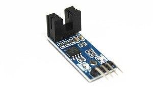 Image 2 - Envío Gratis 100 Uds infrarrojo ir Módulo Sensor de velocidad/Motor Módulo de prueba/ranura Tipo optoacoplador módulo 4 pin LM393