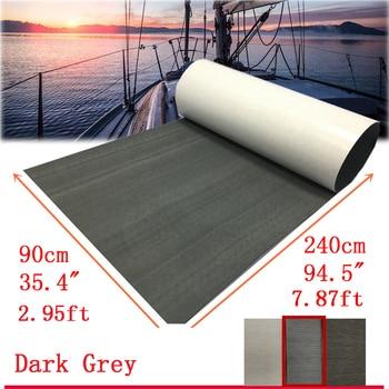 Marine Boat Non Skid Flooring EVA Yacht Teak Decking Sheet Carpet Floor 240CM