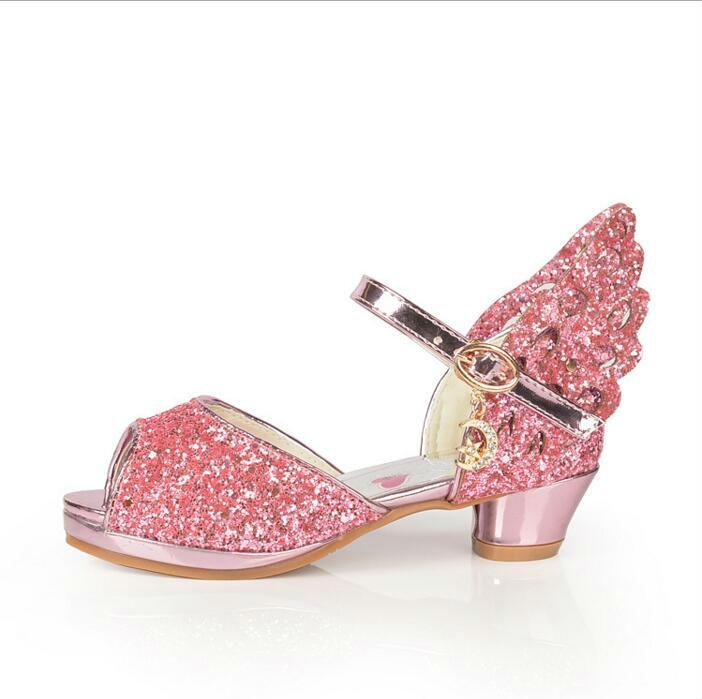 Aliexpress.com : Buy SexeMara 2017 girls high heels shoes children ...