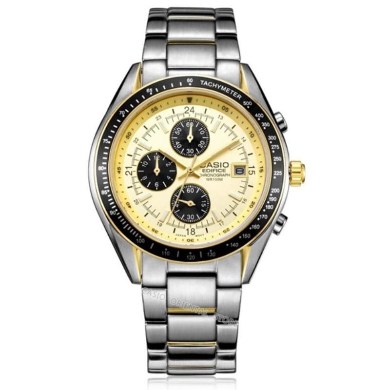 CASIO ediffice men's Watch Hot Sale Business 10 bar Waterproof Quartz Watches EF-503 Relogio Masculino Table Clcok EF-503D-7A casio ef 530p 7a