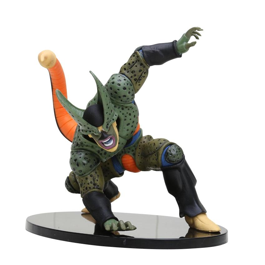 8-30 см Dragon Ball Z SCultures, большая серия Budoukai, фигурка из лазурита, наппа, радиц, Гоку, плавки, Вегета, сатана, Коллекционная модель - Цвет: Cell  5