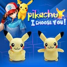 Pikachu Plush Toys Children Gift Cute Soft Toy Cartoon Pocket Monster Anime Kawaii Baby Kids Toy Pikachu Stuffed Plush Doll