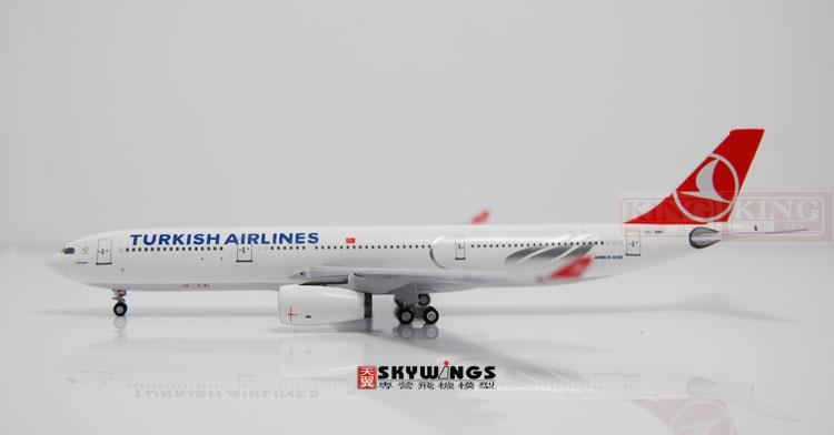 Aeroclassics Turkey Airlines TC-JNH 1:400 A330-300 commercial jetliners plane model hobby sale phoenix 11221 china southern airlines skyteam china b777 300er no 1 400 commercial jetliners plane model hobby