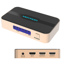 Vention HDMI 1 Input 2 Output Splitter HDMI Switch Switcher HDMI Splitter HDMI Port For XBOX