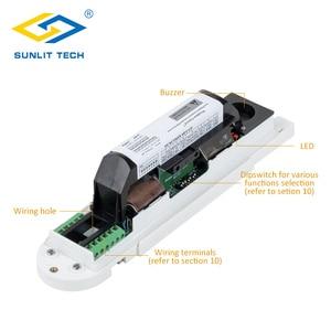 Image 3 - Sensor de movimiento Pir de cortina con cable, Detector de movimiento Pir de cortina antirrobo IP55, resistente al agua, Sensor pasivo antimascotas, sistema de alarma antirrobo para el hogar
