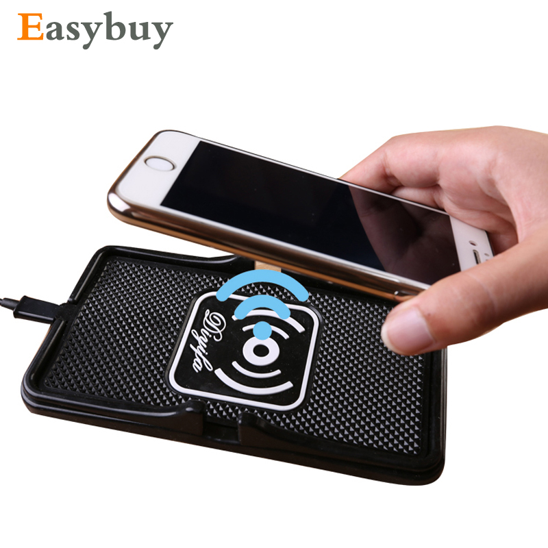 Car Mobile Phone Holder Qi Wireless Charger Car Charger Pad for for Samsung Galaxy Note 5