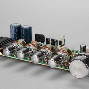 Image 2 - AC 12V 15V PT2399 dijital mikrofon ses amplifikatörü kurulu Karaoke plaka Reverb preamplifikatör teşvik ton kurulu