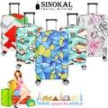 Cobertura de bagagem de Viagem Mala Capa de Poeira Bagagem Spandex Elástico Protetor para 18 20 22 24 26 26 28 30 32 polegada de Bonde caso