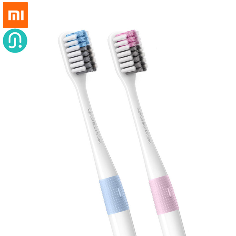Xiaomi Doctor B Toothbrush Bass Method Sandwish-bedded Brush Wire 4 Colors Toothbrush fast ship image