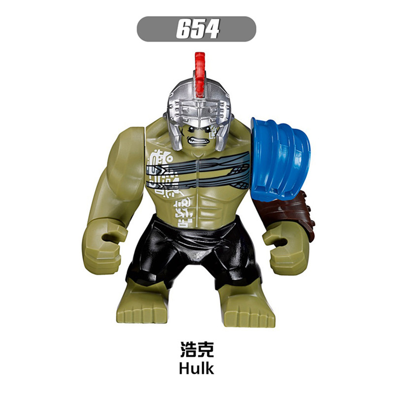 Single Sale Building Blocks xinh654 Hulk Loki Figures Marvel Avengers Super Hero Star Wars Set Model Action Bricks Kids DIY Toys hulk xh002 super hero single sale bruce banner red she hulk marvel s the avengers building blocks sets model figure toys