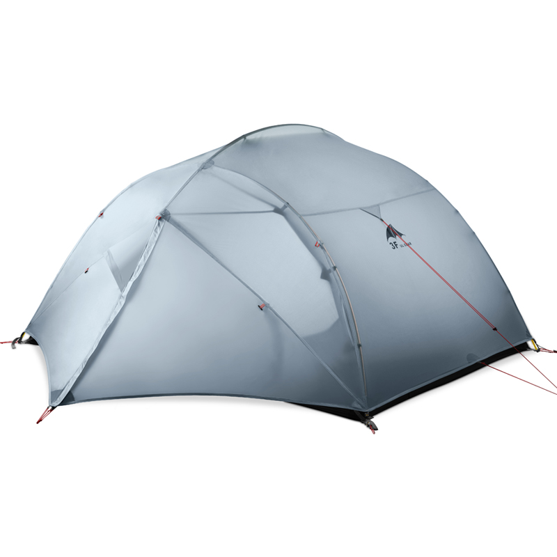Image 4 - 3F UL GEAR 3 Person Camping Tent 15D Silicone 210T Outdoor Ultralight Hiking Waterproof With Ground SheetTents   -